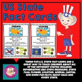U.S. State Fact Cards