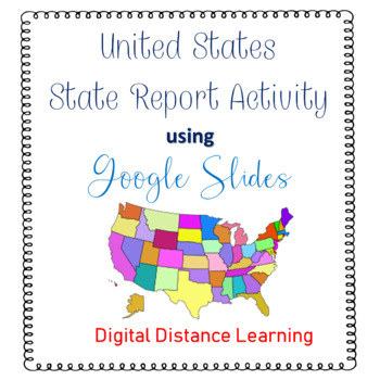 U.S. State Report for Google Slides