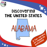 United States Research: Alabama (Printable AND Digital options!)