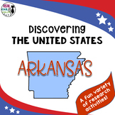 United States Research: Arkansas (Printable AND Digital options!)