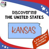 United States Research: Kansas (Printable AND Digital Options!)
