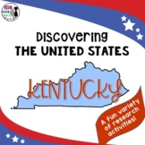 United States Research: Kentucky (Printable AND Digital Options!)