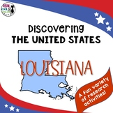 United States Research: Louisiana (Printable AND Digital Options!)