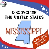 United States Research: Mississippi (Printable AND Digital Options!)