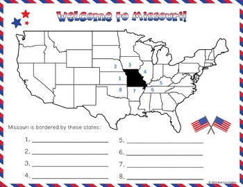 United States Research: Missouri (Printable AND Digital Options!)