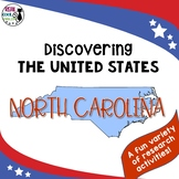 United States Research: North Carolina (Printable AND Digital Options!)