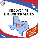 United States Research: Texas (Printable AND Digital Options!)