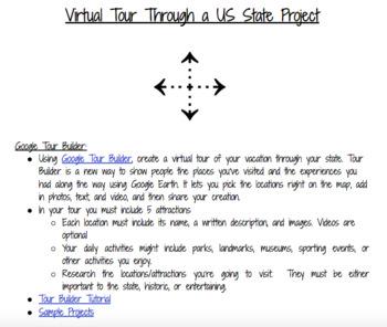 U.S. State Virtual Tour Project