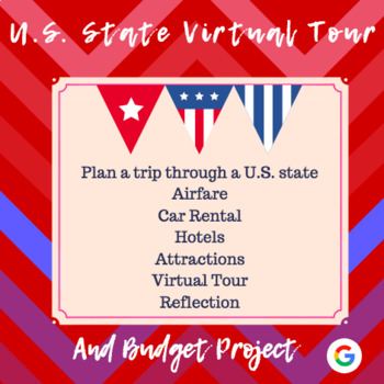 U.S. State Virtual Tour and Budget Project