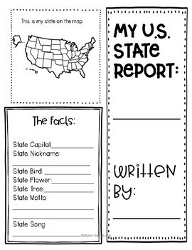 U S State Writing Research Distance Learning #