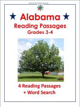 U.S. States: Alabama Reading Passages
