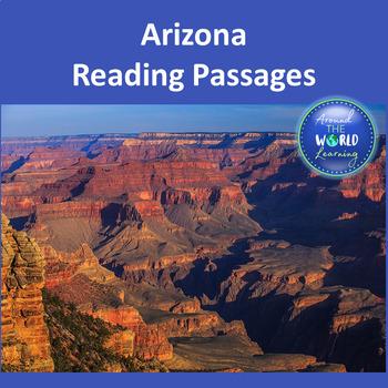 U.S. States: Arizona Reading Passages
