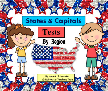U.S. States & Capitals Tests