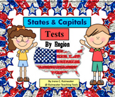 U.S. States & Capitals Tests (by Region)