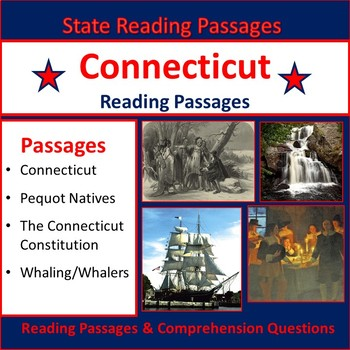 U.S. States: Connecticut Reading Passages