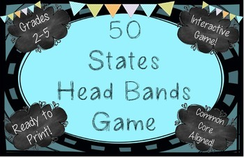 U.S. States Head Bands Game!