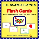 U.S. States and Capitals Flash Cards - Fun and Easy! - Geo