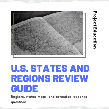 U.S. States and Regions Review Guide