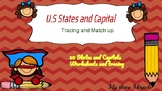 U.S States and capital Tracing, Mach Up