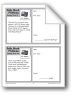 U.S. Statistics (Grade 4 Daily Word Problems-Week 20)