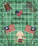 U.S. Studies Weekly Weeks 1-8 Cloze Passages