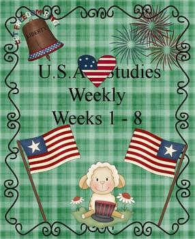 U.S. Studies Weekly Weeks 1-8 Clozed Passages