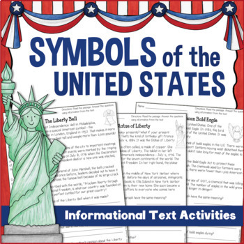 Symbols of the United States Informational Reading