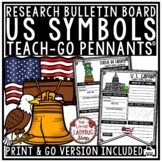 American Symbols Activity & US Symbols Research Teach- Go