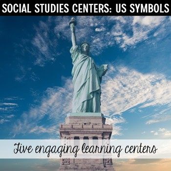 U.S. Symbols Centers: Statue of Liberty, Mount Rushmore, Bald Eagle and more...