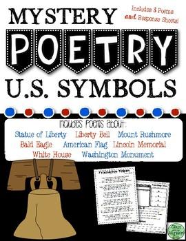 U.S. Symbols Mystery Poetry Set