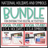 U.S. Symbols, Patriotic Symbols, and National holidays Dig