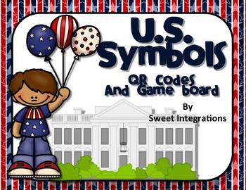 U. S. SYMBOLS: QR Codes and Game Board