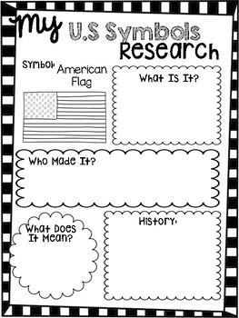 U.S. Symbols Research Report--Using Pebble Go