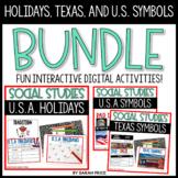 U.S. Symbols Texas Symbols United States Digital Activitie