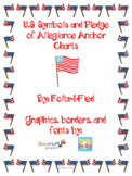 U.S Symbols and Pledge of Allegiance Anchor Charts