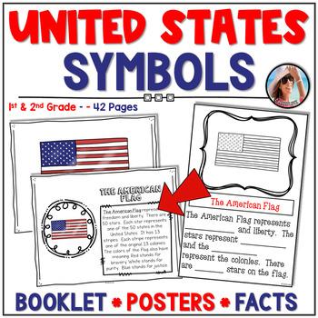 U. S. Symbols for the Lower Primary Grades {Posters, Mini Book & More}