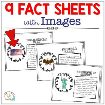 U. S. Symbols for the Upper Primary Grades {Posters, Mini Book & More}