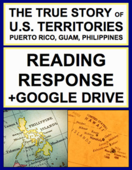 U.S. Territories History Nonfiction Reading Response, Answer Key + Google Doc