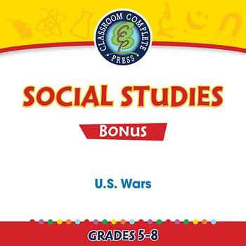 U.S. Wars Gr. 5-8 - BONUS WORKSHEETS