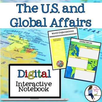U.S. and Global Affairs Interactive Notebook for Google Drive