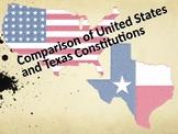 U.S. -vs- Texas Constitution