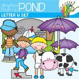 Alphabet Clipart - Letter U