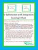 U-Substitution with Integrals Scavenger Hunt