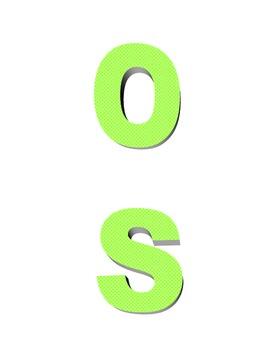 Spelling Game-U Turn