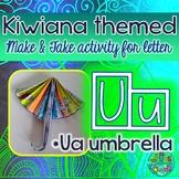 U = Ua-Umbrella (Rain-Umbrella)  {Kiwiana Themed 'Make & T