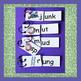 Word Families Activities - Short U Sound, Puzzles,Flip Boo