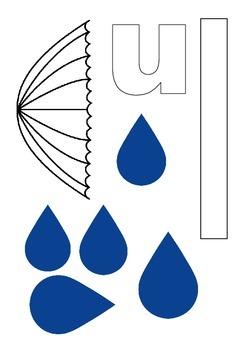 U is for Umbrella, Uh, Uh, Uh!