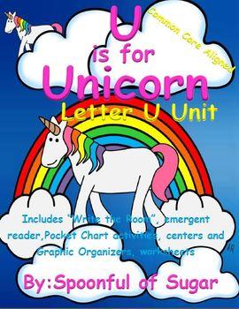 U is for Unicorn (Letter U Unit)