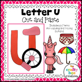 Letter U Craft {Unicycle}