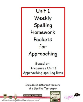 U1 Spelling for APPROACHING Words